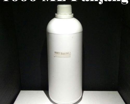 Botol Hdpe 1000 ML Panjang Putih Doff