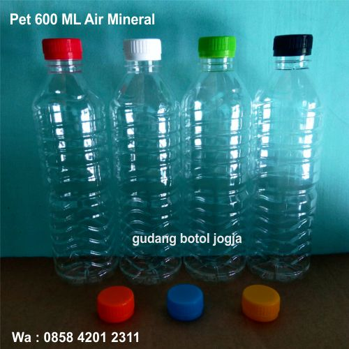 Botol Pet 600 ML Air Mineral