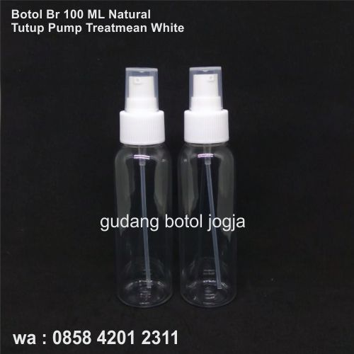 Botol BR 100 ML Tutup Pumptreatmean