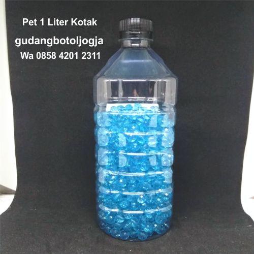 Botol Pet 1 Liter Kotak
