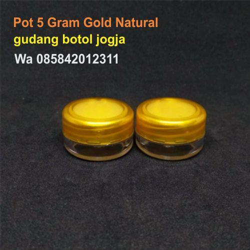 Pot 5 Gram Gold Natural