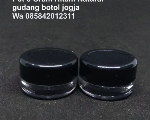 Pot 5 Gram Hitam Natural