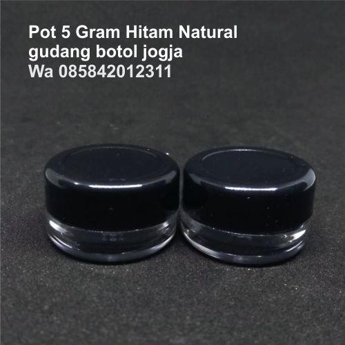 Pot 5 Gram Hitam Natural