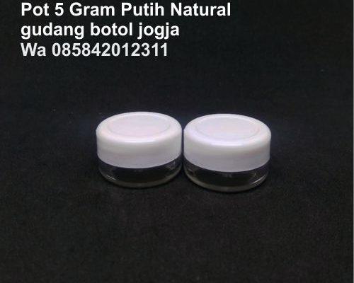 Pot 5 Gram Putih Natural